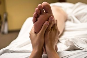 masaje piernas panticosa