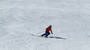 evitar molestias esqui-En manos de Nara