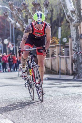 bici en triatlon-En manos de Nara
